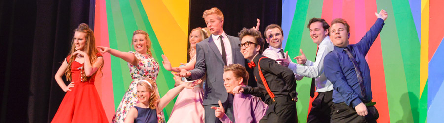 hairspray production worthing theatre 2015