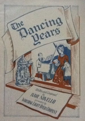 programme - the dancing years