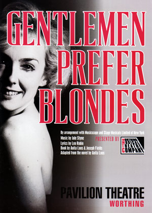 programme - gentlemen prefer blondes
