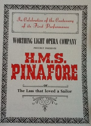 programme - h.m.s pinafore