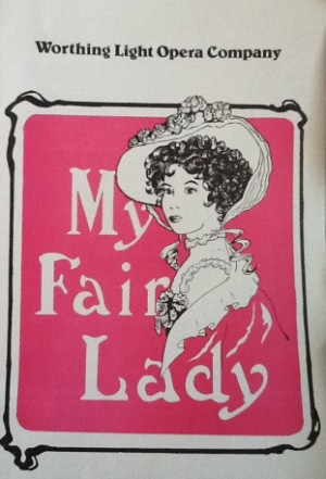 programme - my fair lady