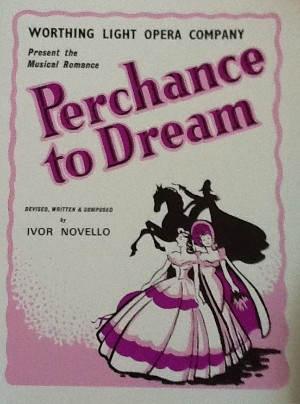 programme - perchance to dream
