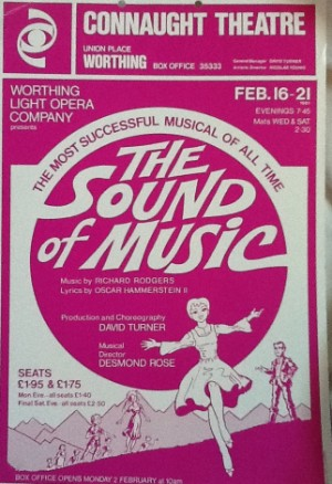 programme - the sound of music