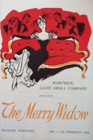 programme - the merry widow